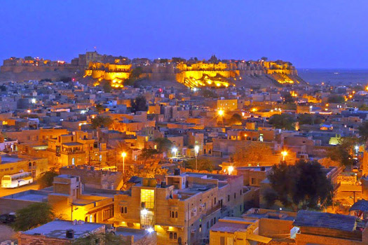 Jaisalmer-at-night