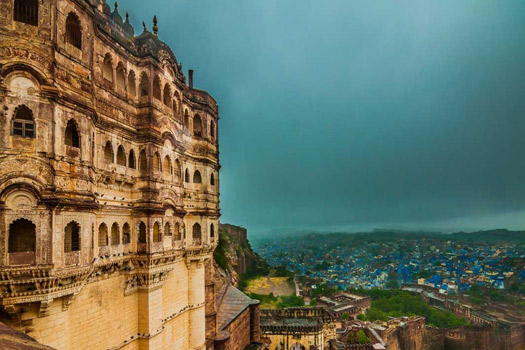 View-of-Jodhpur-from-Mehrangarh-Fort